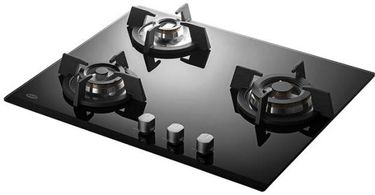KAFF KH 60 BR 31 Glass Automatic Gas Stove Hob (3 Burners) Price in India