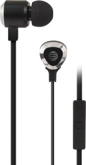 AT&T SEB50 Wired Headset with Mic(Black, In the Ear) Price in India