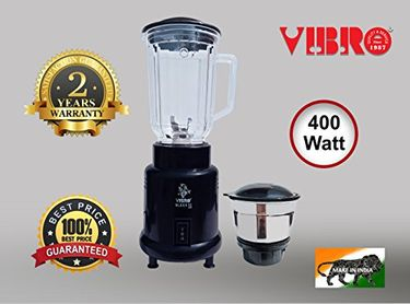 Vibro Sleek-11 400W Mixer Grinder (2 Jars) Price in India