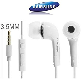 Samsung Original EHS64AVFWE Headset with Mic Price in India