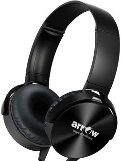 Arrow Extra Bass Stereo Boom Headphones with Mic Price in India