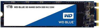 WD Blue (WDS100T2B0B) 1TB 3D NAND SATA Internal SSD Price in India