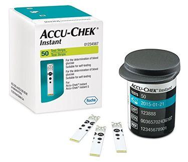 Accu-Chek Instant Test Strips (50 Strips) Price in India
