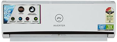 Godrej GIC 12 RINV 3 RWQH 1 Ton 3 Star inverter Split Air Conditioner Price in India