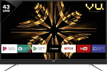 Vu 43SU128 43 Inch 4K Ultra HD Smart LED TV Price in India