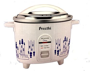 Preethi Wonder Glitter 1.8 L Electric Rice Cooker Price in India