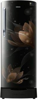 Samsung RR22N287YB8/NL 212 L 4 Star Inverter Direct Cool Single Door Refrigerator (Blooming Saffron) Price in India