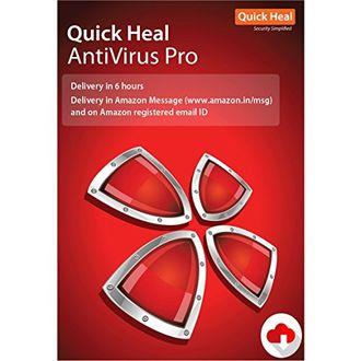 Quick Heal Antivirus Pro 1 PC 3 Year Antivirus (Key Only) Price in India
