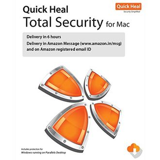 Quick Heal Total Security 1 PC 1 Year Antivirus (For Mac) Price in India