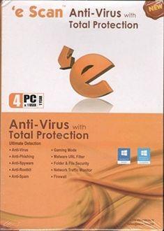 eScan Anti-Virus 2017 4 PC 1 Year Antivirus Price in India