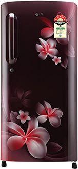 LG GL-B201ASPY 190 L 5 Star Inverter Direct Cool Single Door Refrigerator (Plumeria) Price in India