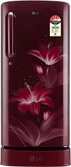LG GL-D201ARGX 190 L 4 Star Inverter Direct Cool Single Door Refrigerator (Glow) Price in India