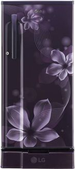 LG GL-D191KPOW 188 L 3 Star Inverter Direct Cool Single Door Refrigerator (Orchid) Price in India