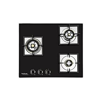 Hindware Gloria Plus H100042 Stainless Steel Auto Ignition Gas Cooktop (3 Burners) Price in India