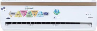 Carrier 12K Breezo CAI12BR5C8F0 1 Ton 5 Star Inverter Split Air Conditioner Price in India