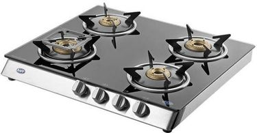 KAFF KC 70 SS GI Automatic Gas Cooktop (4 Burners) Price in India