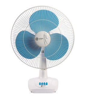 Orient Desk 86 3 Blade (400mm) Table Fan Price in India