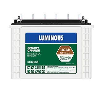 Luminous SC12054 110AH Battery Price in India