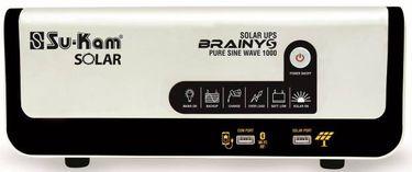 Su-Kam Brainy Solar 1000VA 12V Pure Sine Wave Inverter Price in India
