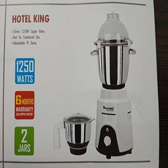 Sumeet Traditional Hotel King 1250 W Mixer Grinder (2 Jars) Price in India