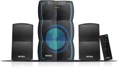 Intex IT-3510 FMUB 2.1 Channel Multimedia Speaker Price in India