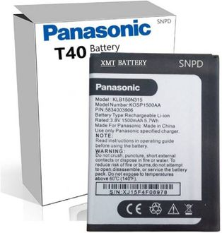 Panasonic T40 1500mAh Battery Price in India