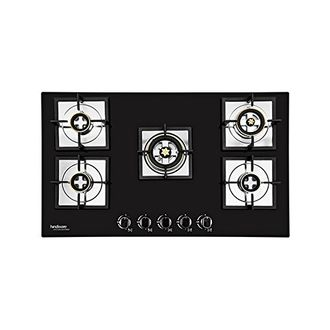 Hindware Diva Plus Stainless Steel Automatic Gas Cooktop (5 Burners) Price in India