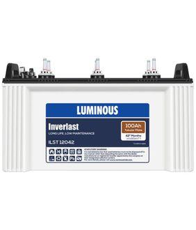 Luminous Inverlast ILST 12042 100Ah Battery Price in India