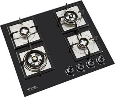 Hindware Flora Plus 60 Automatic Built In Hob Gas Cooktop (4 Burners) Price in India