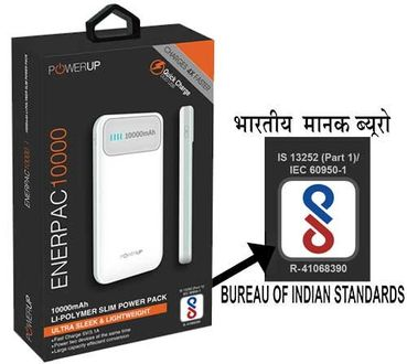 Power Up PUP-PB10KGRY Enerpac 10000mAh Power Bank Price in India