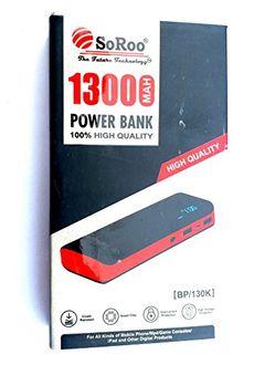 SoRoo BP/130k 13000mAh Power Bank Price in India