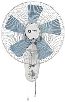 Orient Electric Wind Pro 5 Blade (400mm) Wall Fan Price in India