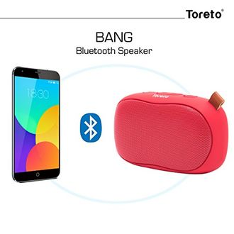 Toreto Bang Bluetooth Speaker Price in India