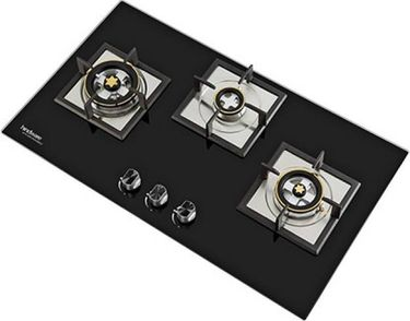 Hindware Elisa Plus 3B Automatic Gas Cooktop (3 Burners) Price in India