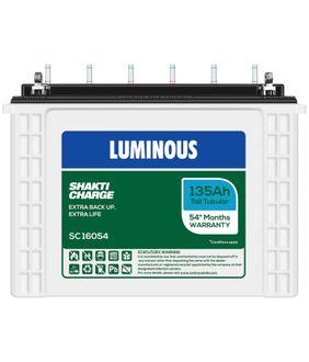 Luminous Shakti Charge SC-16054 135Ah Battery Price in India