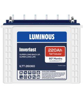 Luminous Inverlast ILTT-26060 220Ah Battery Price in India