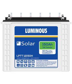 Luminous Solar LPTT-12150H 150Ah Battery Price in India