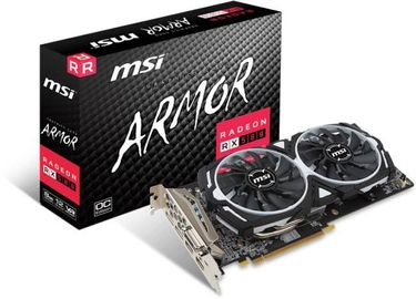 MSI ARMOR RX 580 8GB DDR5 Graphic Card Price in India