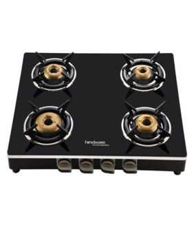 Hindware Milano Auto Ignition Gas Cooktop (4 Burners) Price in India