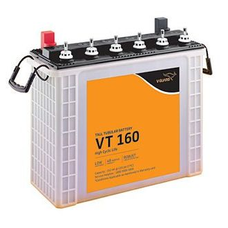V-Guard VT160 150AH Tall Tubular Inverter Battery Price in India