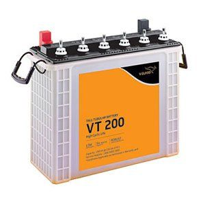 V-Guard VT200 200AH Tall Tubular Inverter Battery Price in India