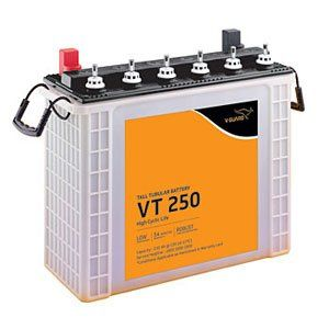V-Guard VT250 230AH Tall Tubular Inverter Battery Price in India