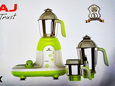 Bajaj Twister DLX 750W Mixer Grinder (3 Jars) Price in India