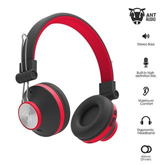 Ant Audio H82 On the Ear Bluetooth Headset Price in India