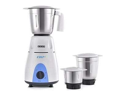 Usha Colt Plus MG-3772 750W Mixer Grinder (3 Jars) Price in India