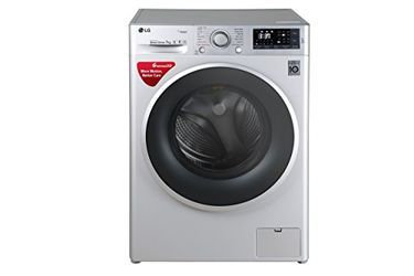 LG 7Kg Fully Automatic Front Load Washing Machine (FHT1207SWL) Price in India