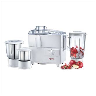 Prestige 41114 550W Juicer Mixer Grinder (3 Jars) Price in India