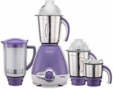 Preethi Lavender Pro 600W Mixer Grinder (4 Jars) Price in India