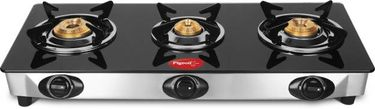 Pigeon Favourite Glass Automatic Gas Cooktop (3 Burners) Price in India
