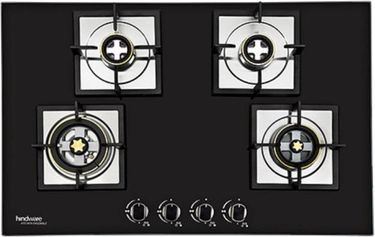 Hindware Bravia Plus Stainless Steel Automatic Gas Cooktop (4 Burners) Price in India